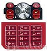 Sony Ericsson W910i keypad red