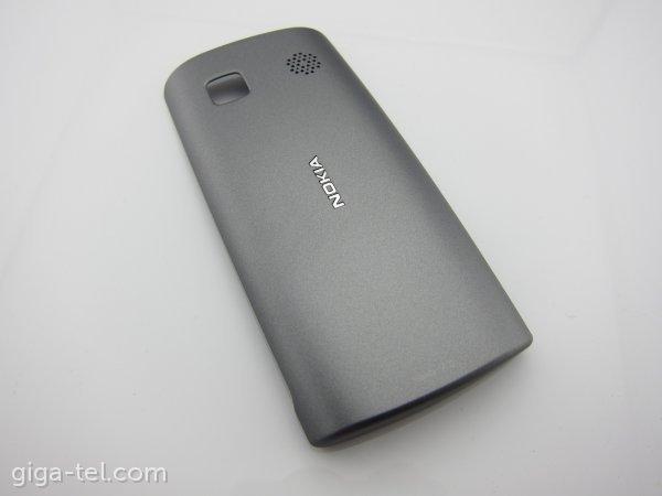 Nokia 500 battery cover dark silver - 0258973