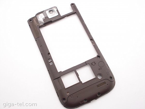 Samsung i9300 middle cover brown