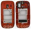 Nokia 302 middle cover red