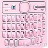 Nokia 205 keypad pink English