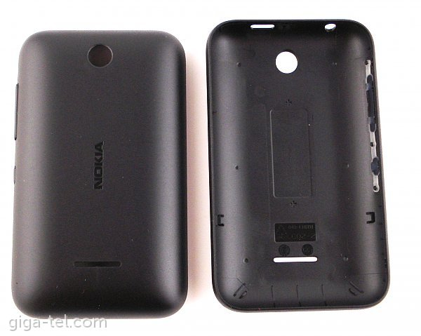 huge discount 1cd2e 2fd46 Nokia Asha 230 battery cover black - 02506K4