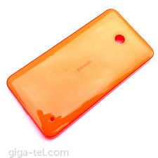 Nokia 630 battery cover orange glossy