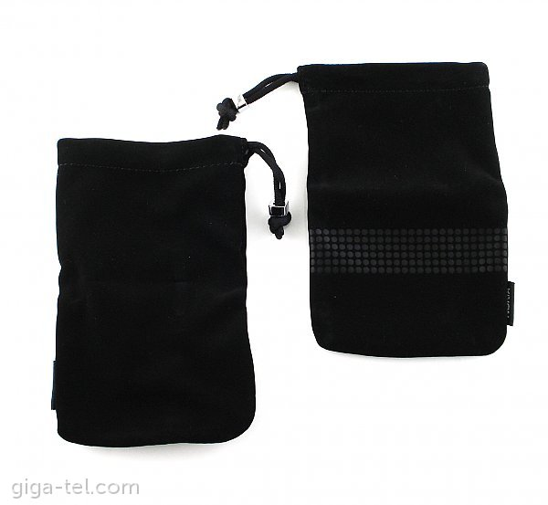 Bag for mobile black size 140x85