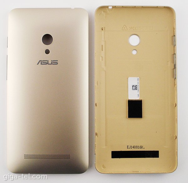huge selection of 6904a 53a91 Asus Zenfone 5 battery cover gold