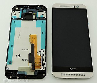HTC One M9 Full LCD Silver