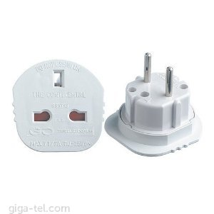 Travel adapter UK -EU