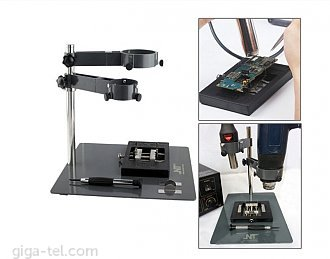 Repair platform mobile phone for hot-air with fixture 2in1, screwdriver, bracket (weight 1,6kg)
