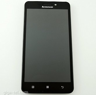 Lenovo A5000 full LCD with front cover black