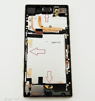 Sony Xperia Z5 LCD with flexs and earpiece