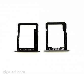 Huawei P7 SIM+SD holder black