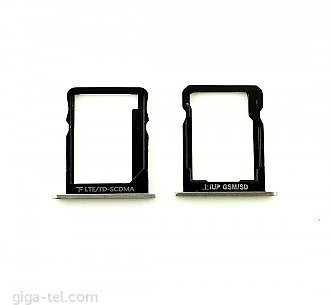 Huawei P7 SIM+SD holder white