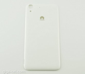 Huawei Y6 battery cover white