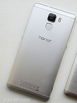 Honor 7 battery cover grey with side keys   Without fingeprint and CE description !