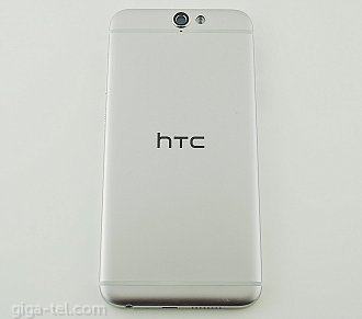 HTC A9 back cover silver with side keys - with CE description !
