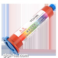 "50g  transparent liquid, Curing: UV waves 20-400nm, viscosity (25C, mPas): 2500 (ideal for all the above LCD 10 "")"