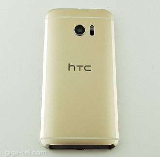 HTC 10 back cover gold