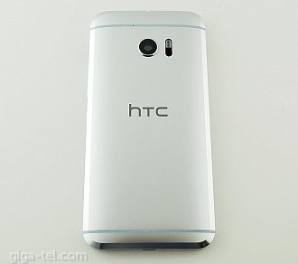 HTC 10 back cover white / silver