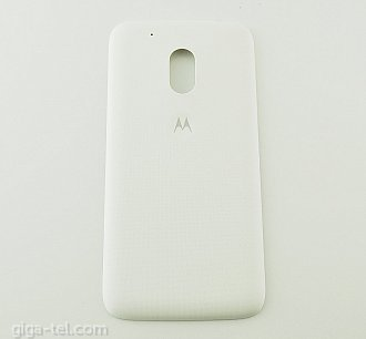 Motorola G4 Play battery cover white