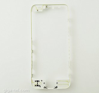 OEM frame with glue for iPhone 5 white