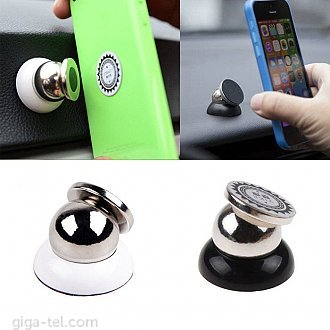 Magnetic car holder black