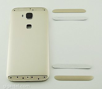 Huawei G8 battery cover gold with side keys