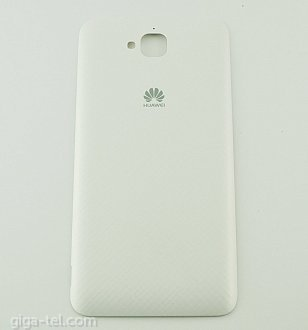 Huawei Y6 Pro battery cover white