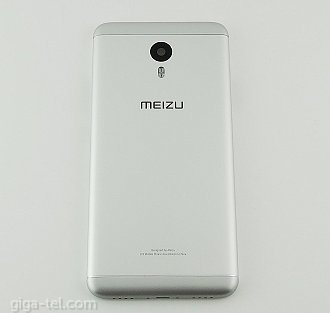 Meizu M3 Note battery cover white
