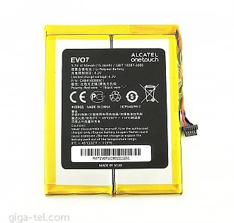 4150mAh Alcatel One Touch Evo7 battery