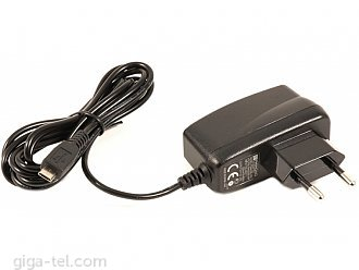 5V - 1A - very good charger for micro USB devices as Samsung, Huawei