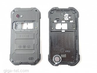 iGet Blackview BV6000 cover with gasket, loudspeaker and camera lens