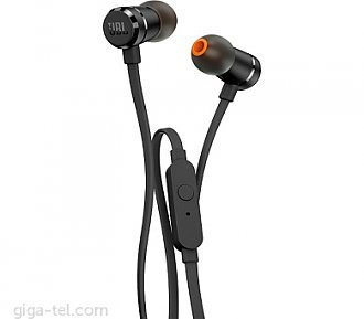 JBL T290 earphones black