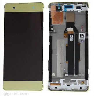 Sony Xperia XA LCD lime gold