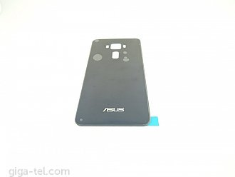 Asus Zenfone 3 battery cover black with dhesive tape