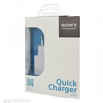 Sony EP881 charger white