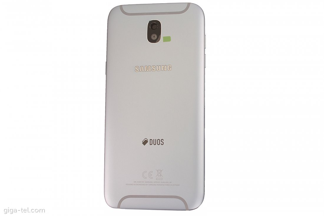 Samsung J530F battery cover silver DUOS