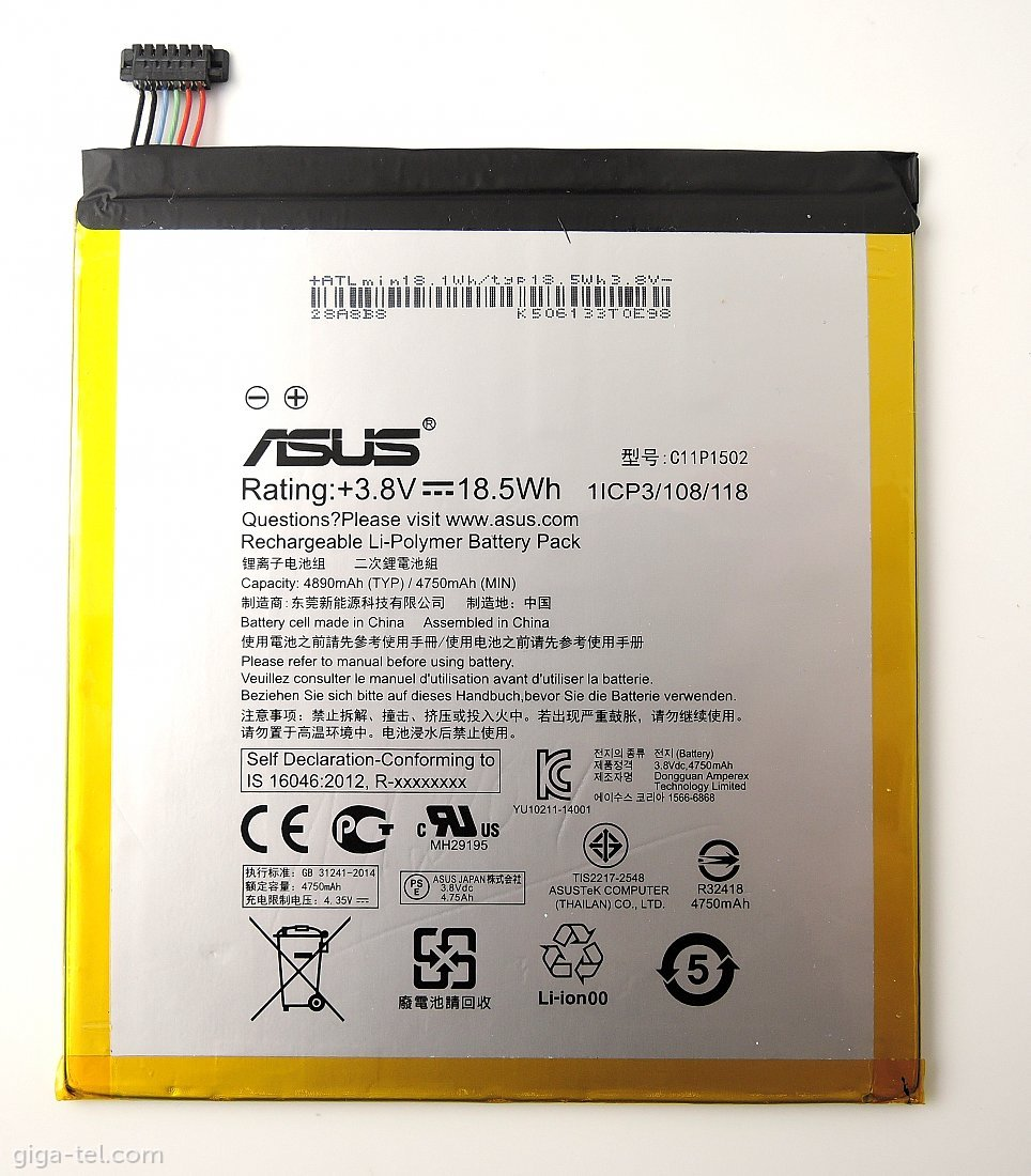 Asus for ZenPad 10 battery