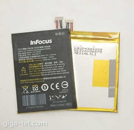 InFocus M512 battery