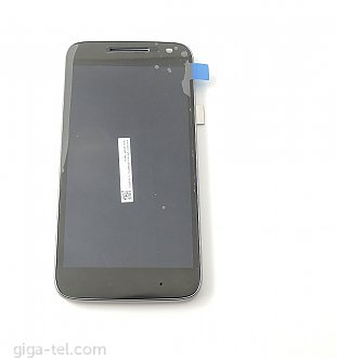 Lenovo Moto G4 Play full LCD black with front cover !