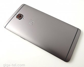 Oneplus 3 battery cover grey / without parts
