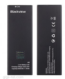 2050mAh - iGET Blackview A8