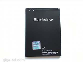 2000mAh - iGET Blackview A5