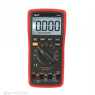 K-890 is a 3 5/6 high precise digital instrument with functions of stable performance, battery-driven, high reliability ,and high accuracy .