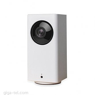 Connect to your home anytime, anywhere. Dafang IP Camera from Xiaomi supports 1080P resolution. It has F 2.3 aperture lens and 120 degree viewing angle. By rotating the gimbal, it can take photographs by 360 degree (horizontal) or 93 degree (vertical), taking 3 seconds to check all state of your family.