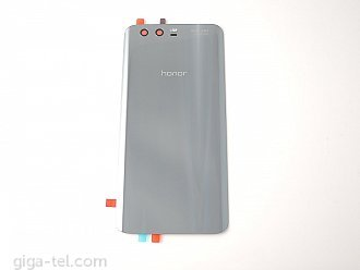 Honor 9 battery cover grey - with flash lens and adhesive tape