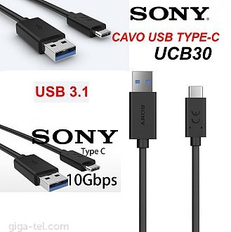 Sony UCB-30  Type C QC3.0 USB3.1 ! 2gen ultra fast data cable