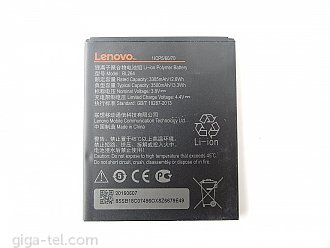 3500mAh - Lenovo Vibe C2 Power
