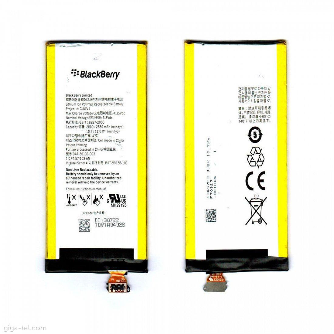 Blackberry Z30 battery - CUWV1 / BAT-50136-003