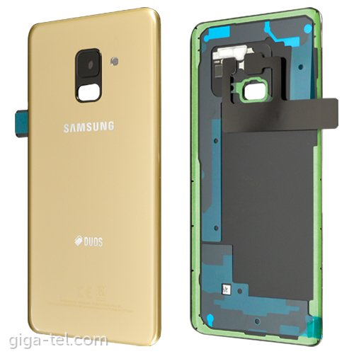 Samsung A530F battery cover gold