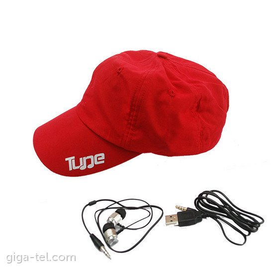 Tune bluetooth cap red